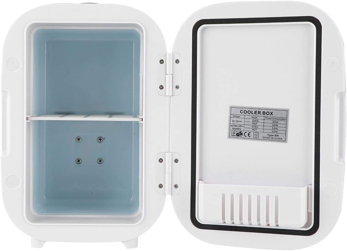 Rosvola Car Fridge 6L ABS Mini White Sales Cooler Portable C for Colorado Springs Mall