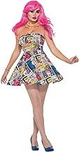 Forum Novelties 76718Pop Art vestido (UK 10–12)