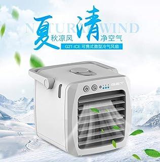 Mini aire acondicionado micro aire acondicionado enfriador de aire personal dormitorio portátil ventilador de refrigeración por agua Usb pequeño aire acondicionado