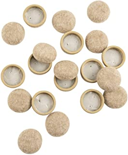 SuperSliders Formed Felt Furniture Movers for Hard Surfaces 1-1/4 Inch 4318695N 20