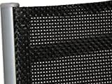IB-Style Top Gartenmöbel Jamaica Gartengarnitur Alu/Textilen 6 Kombinationen Gartentisch schwarzglas - 3
