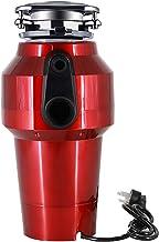 560W Kitchen Insinkerator Waste Disposal Unit,90Mm Water Pipe,Food Waste Shredder,Household Garbage Disposal,6-Level Grind...