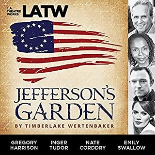 Jefferson's Garden audiobook cover art