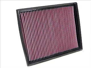 K&N 33-2787 Filtro de Aire Coche, Lavable y Reutilizable