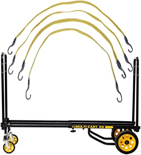 Rock N Roller R8RT 8 in 1 Equipment Cart with 4 Bungee Straps