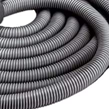 Broan-NuTone CH515 Current-Carrying Crush-Proof Central Vacuum Hose with Swivel Handle, 30' Long, 1.38