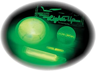 Cn is believing Nitelite Mach 01 Glow in The Dark Golf Balls 3 Balls and 6 Light Sticks