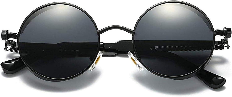 Joopin Polarized Round Sunglasses Women Men Circle Steampunk Sun Glasses
