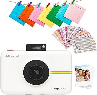 Polaroid Snap Touch 2.0 - Cámara digital portátil instantánea de 13 Mp Bluetooth pantalla táctil LCD tecnología Zink si...