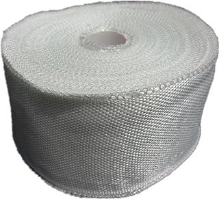 Cinta de tela de fibra de vidrio Rollo de vidrio 5 cm de fibra de vidrio plana Reparación de la tela de armadura plana 25 metros