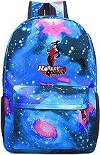 Galaxy Casual Daypacks Harl-ey Qu-inn Fashion Backpacks For School College Student Travel Busines