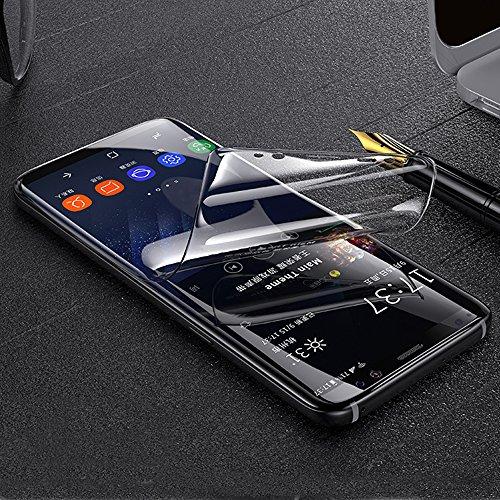 ONICO Bildschirm Schutzfolie für Samsung Galaxy Note 8,TPU Selbstheilend Anti-Bläschen 3D-Gebogenen Volle Bedeckung Folie kompatibel mit Galaxy Note 8 [2 Stück]