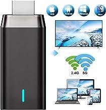 WiFi Display Dongle 4K, DIWUER 5G / 2.4G HDMI Adaptador De Pantalla InaláMbrico Receptor para Android / iPhone / iPad / Windows / Miracast / Mac OS a TV / Proyector / Monitor