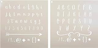 Best rustic lettering alphabet Reviews