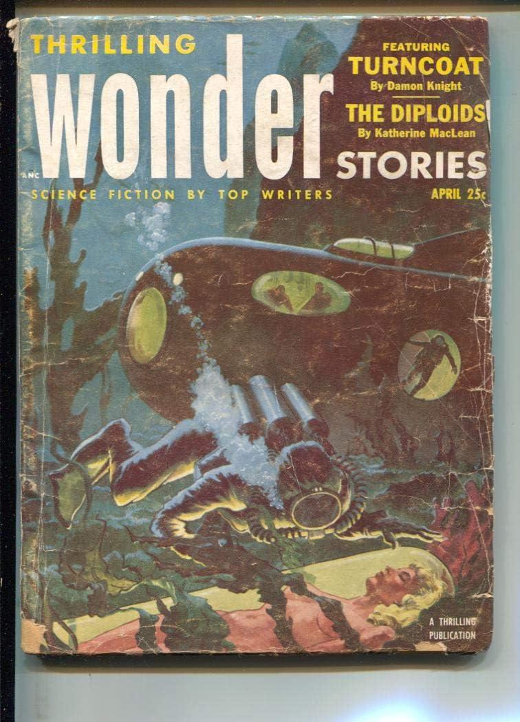 Bargain Thrilling Wonder Stories-Pulp-4 1953-Damon Knight-Philip Fa Max 78% OFF Jose