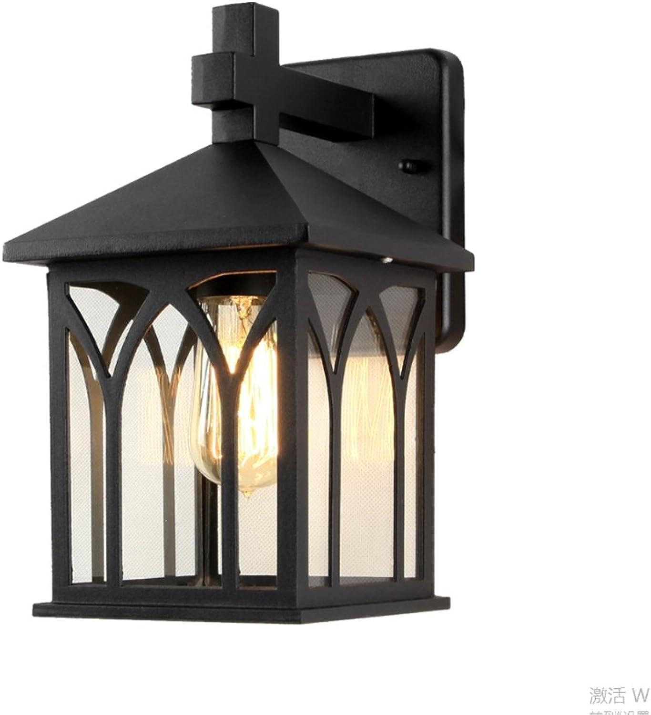 Great St. D G F Europische Outdoor Wand Lampe LED Outdoor Garten Lichter Wasserdicht Rost Korridor Gang Lichter Balkon Aluminium Wandleuchte