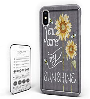 Customize Phone Protective Cover You are My Sunshine Illustrations Ultra Slim Protective Hard Plastic Case Cover for Cover Phone Case for IPHONE6/6S Phone Case