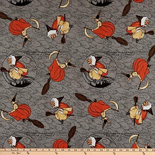 Riley Blake Designs Fabric, Cotton, Grey, by The Yard