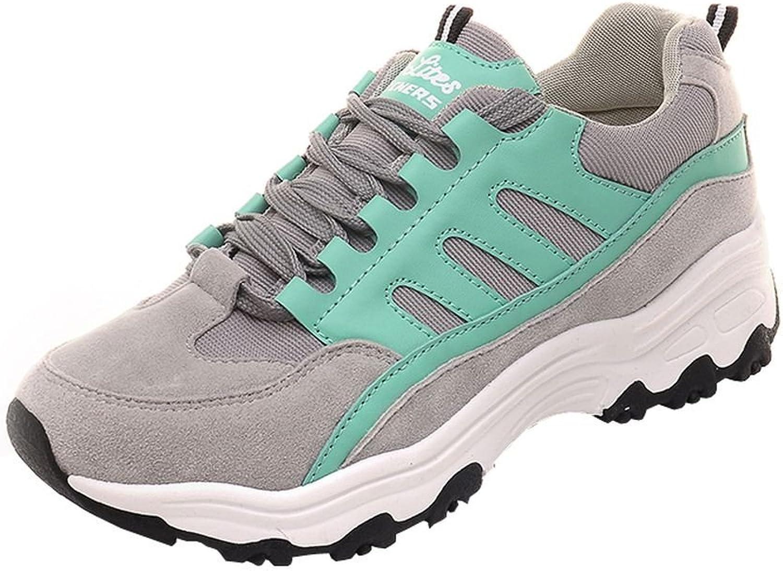 Flake Rain Women's Fashionable Lace-up Sneaker Mesh Casual shoes