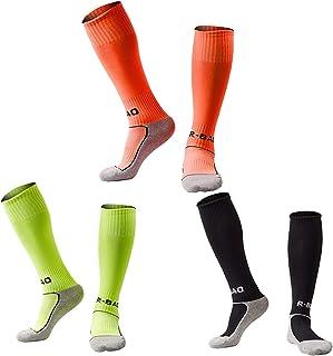 Kids Soccer Socks 5 Pack / 1 Pack Knee High Tube Socks...