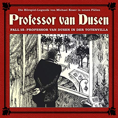 Professor van Dusen in der Totenvilla audiobook cover art