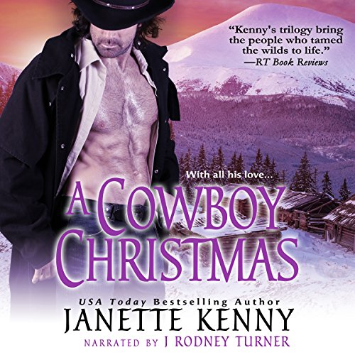 A Cowboy Christmas audiobook cover art
