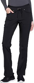 Cherokee Women's Iflex Ck010 Mid Rise Tapered Leg Drawstring Pant
