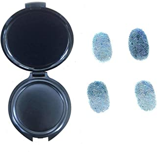 Thumbprint Pad- Fingerprint pad, Clear Impressions, for Identification and Security ID, Professional Fingerprint Pad, by Executive Supplies