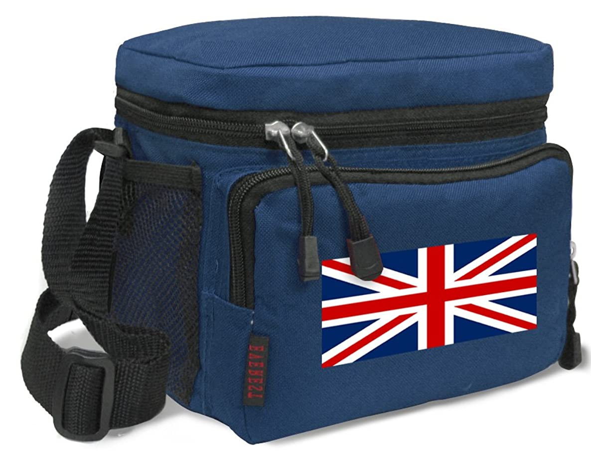 United Kingdom Lunch Bag Deluxe England British Flag Lunch Boxes