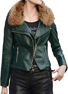 11b493f1c Amazon.com: $100 to $200 - Greens / Leather & Faux Leather / Coats ...