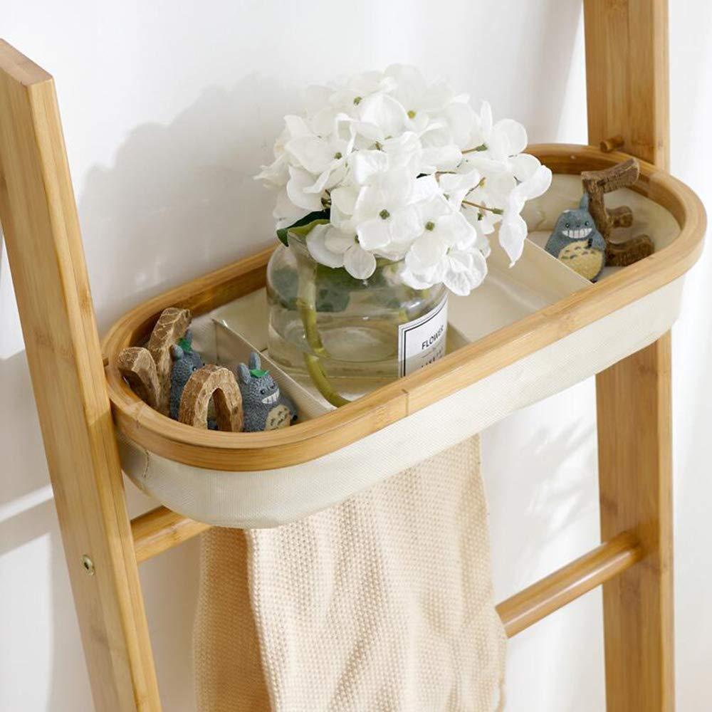 Estantes de pared MEIDUO Estante, Escalera Multifuncional con Forma de Bolsa de Almacenamiento para Toallas, Productos de Belleza, loción, jabón, Papel higiénico, Accesorios Muy Durable: Amazon.es: Hogar