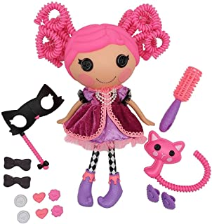 """Lalaloopsy Silly Hair Doll - Confetti Carnivale with Pet Cat, 13"""" Masquerade Ball Party Theme Hair Styling Doll with Pink ..."""