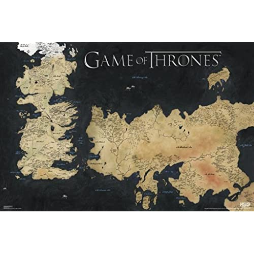 Game of Thrones Maps: Amazon.com Game Of Thrones Map Poster on game.of thrones s3 poster, silicon valley map poster, red dead redemption map poster, dark souls map poster, walking dead map poster, grand theft auto v map poster, supernatural map poster, united states map poster, community map poster, life map poster, fallout new vegas map poster, gravity falls map poster, skyrim map poster, world of warcraft map poster, hobbit unexpected journey map poster,