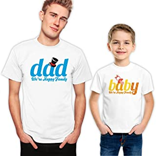 Dad and Baby Father and Son Matching T-Shirts Set