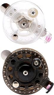 OTGO Plastic Ice Fishing Reels Fly Fishing Tackle Round Wheel Mini Carp Fishing Reel