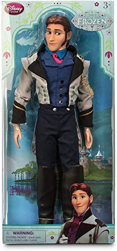 Frozen Hans Classic Doll 12 Disney Store Exclusive (2015 Version) by Disney Interactive Studios
