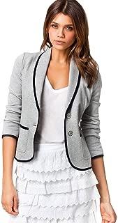 Women Business Coat Short Blazer Suit Long Sleeve Tops Slim Outwear Office Lady