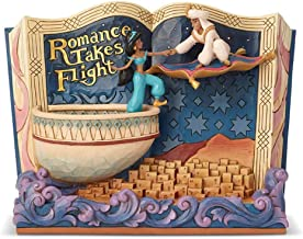 Disney Traditions Romance Takes Flight Aladdin Storybook Figurine