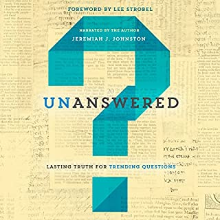 Unanswered audiobook cover art