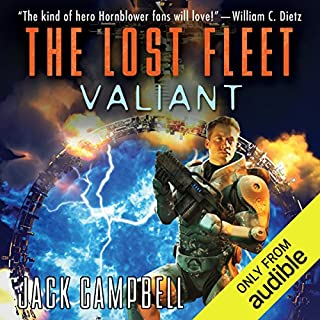 The Lost Fleet: Valiant                   Written by:                                                                                                                                 Jack Campbell                               Narrated by:                                                                                                                                 Christian Rummel                      Length: 10 hrs and 9 mins     13 ratings     Overall 4.4