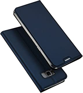 Flip Leather Case For Samsung Galaxy S8 Plus From DUX DUCIS - Dark Blue