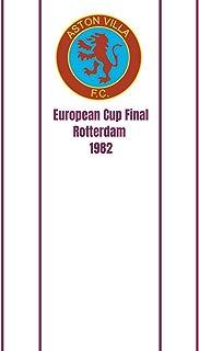 Aston Villa F.C European Cup Final Rotterdam 1982: Soccer Notebook Retro Aston Vintage Villa 120 pages 6x9 ruled