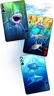 3D Sharks - Playing Cards - Artgame