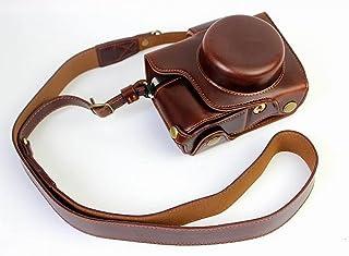 オリンパス OM-D E-M10 Mark II OM D E M10 Mark II 14-42mm カメラケース、koowl 手で作った最高級のpu革の全身カメラ保護殻、OLYMPUS OM-D E-M10 Mark II OM D E M...