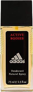 adidas Active Bodies dezodorant w naturalnym sprayu dla mężczyzn - orientalno-drzewne męskie perfumy 75ml