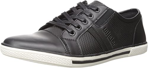Kenneth Cole Unlisted Men& 039;s Shiny Crown Fashion Turnschuhe, schwarz, 7.5 M US