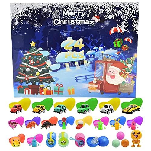 Calendario De Adviento 2021, Juguete De Calendario De Cuenta Regresiva De Navidad, Juguete Para Apretar, Juego De Juguetes Sensoriales De Navidad De 24 Días, Regalo De Navidad Para Niños Y Adultos