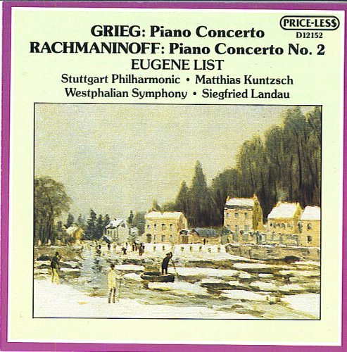 Grieg - Rachmaninoff / Piano Concertos (UK Import)