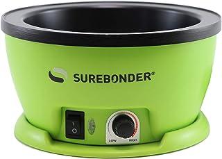 "Surebonder 803 Adjustable Temperature Electric Glue Skillet - 5-1/4"" Diameter, Multicolor"