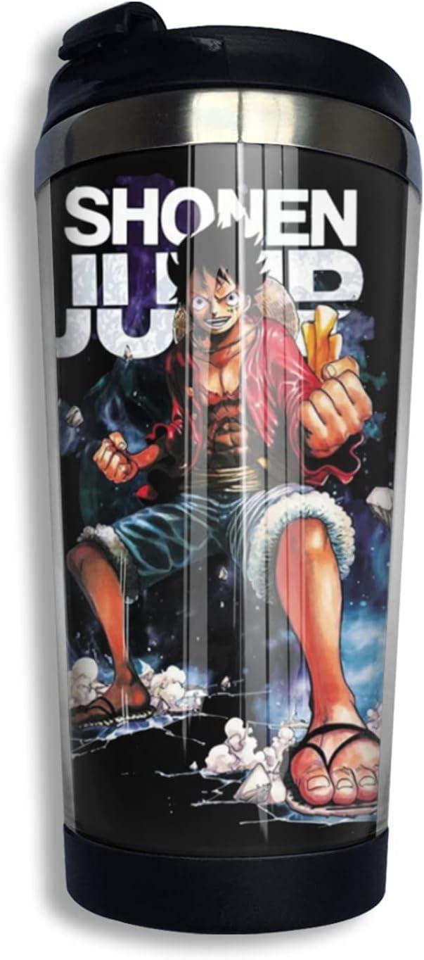 One Piece Monkey D Luffy Philadelphia Mall Anime Coffee Thermos Cup Print New sales F Mug 3d